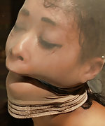 Skin is suffering the tightest bondage she has ever experienced